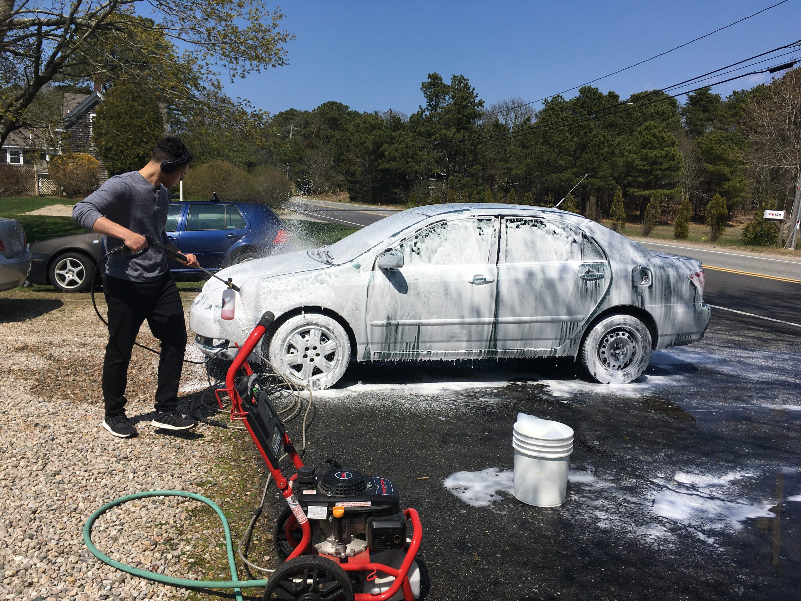 No Pressure, Just Washing