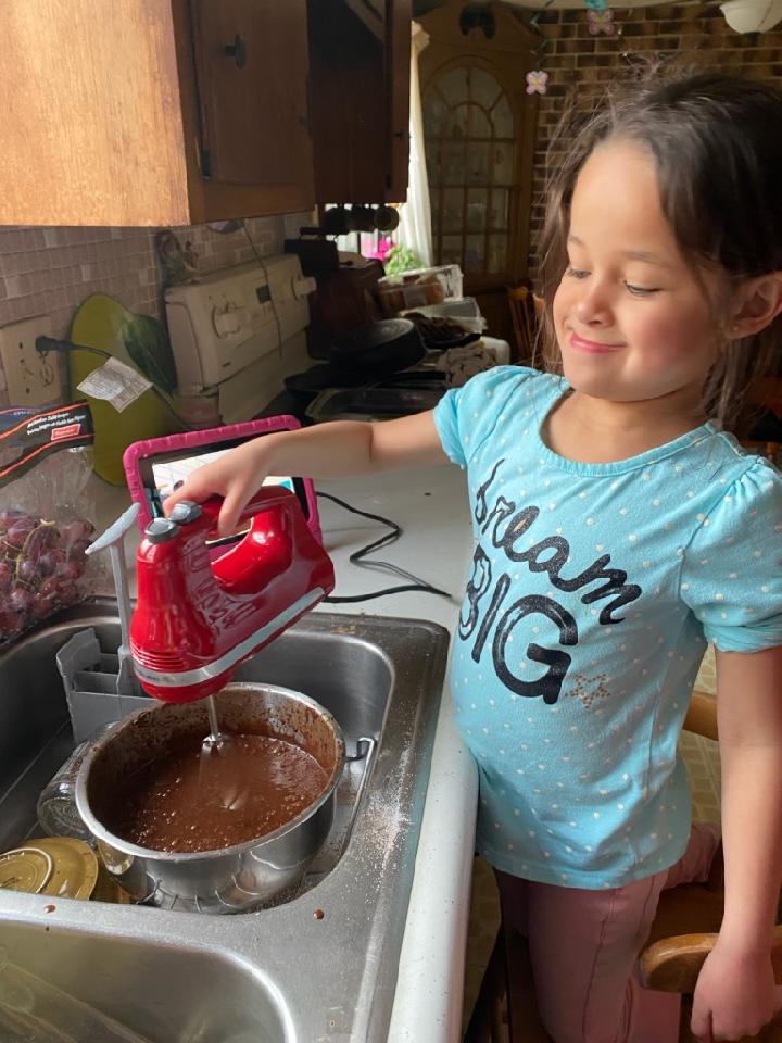 A little baking